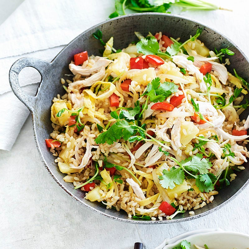 Photo of Chicken and pineapple fried rice by WW