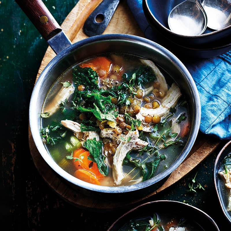 Photo of Chicken and vegetable soup by WW