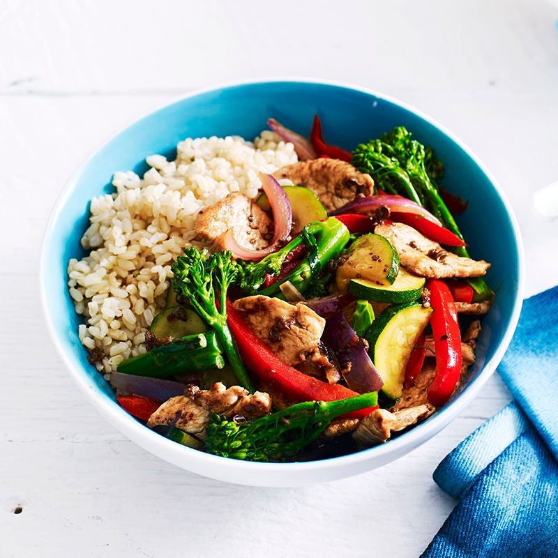 Photo of Pao chicken stir-fry by WW