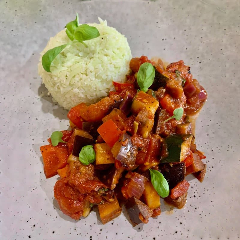 Photo of Shellie's ratatouille with cauliflower 'rice' by WW