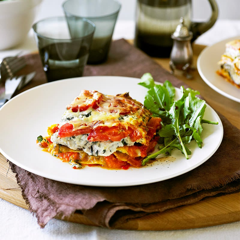 Photo of Chargrilled vegetable lasagne by WW