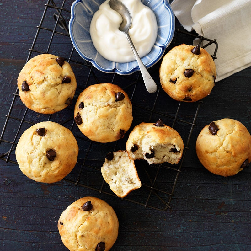 Photo of Banana and choc-chip muffins by WW