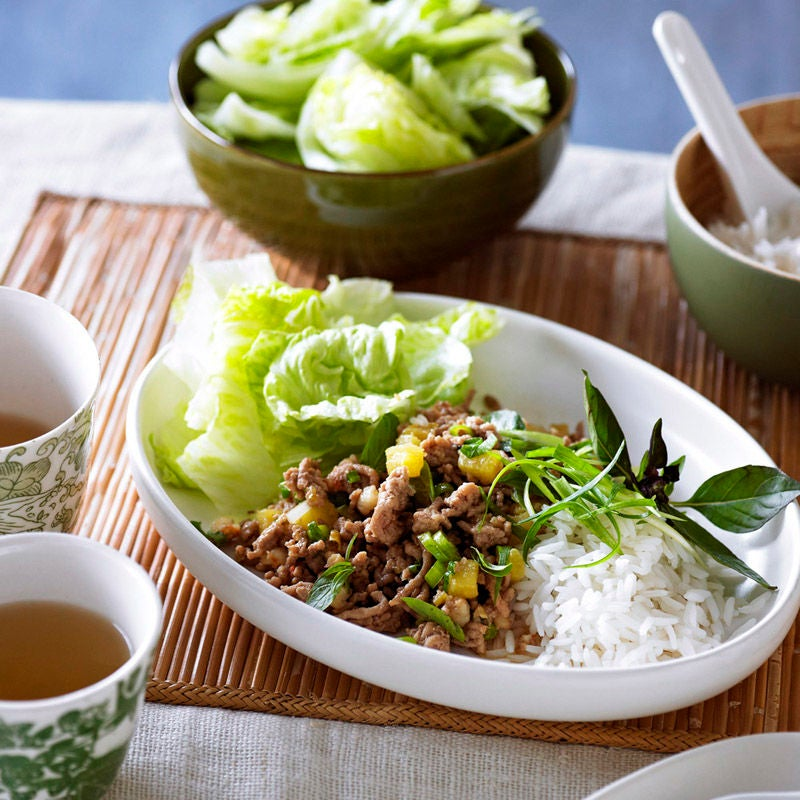 Photo of Easy pork and prawn larb by WW