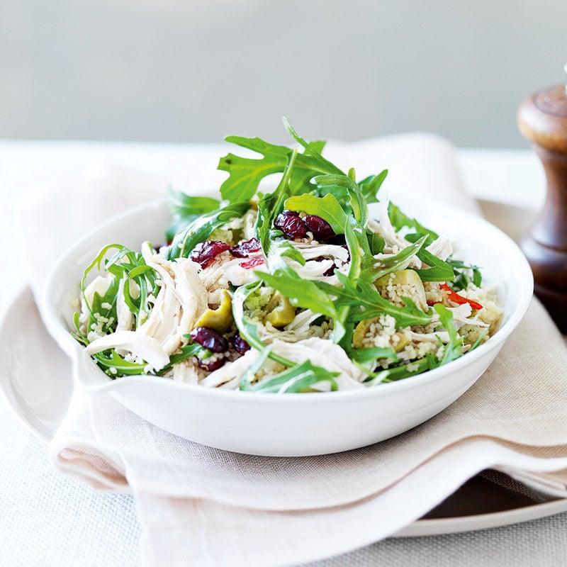 Photo of Chicken, olive and couscous salad by WW