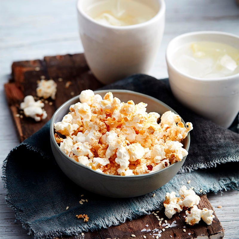 Photo of Salt, vinegar and sesame popcorn by WW