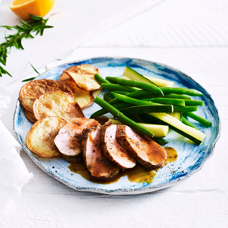 Photo of Roast pork fillet by WW