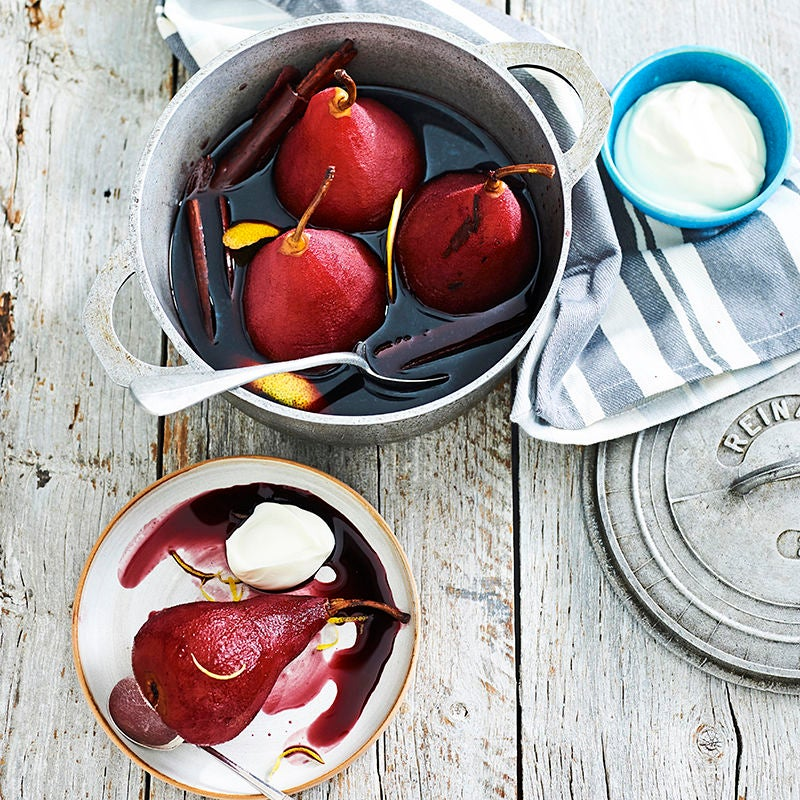 Photo of Italian poached pears by WW