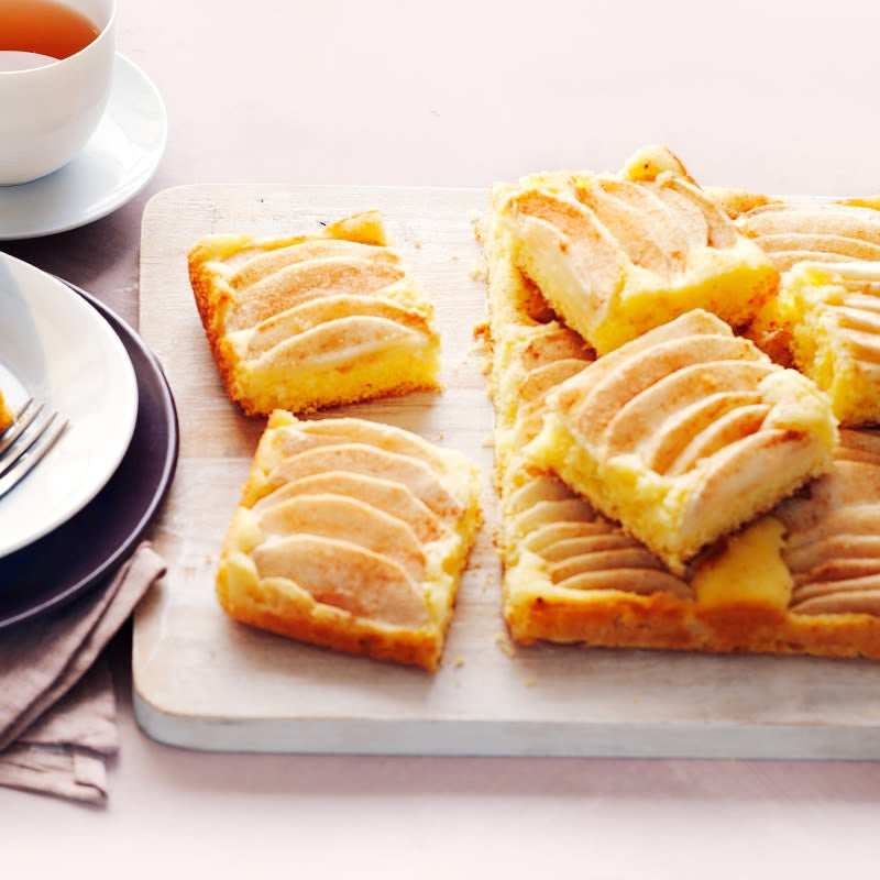 Photo of Apple sponge slice by WW