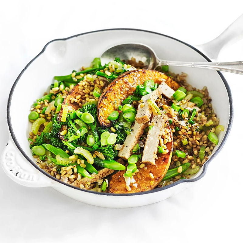 Photo of Pumpkin and freekeh pilaf by WW