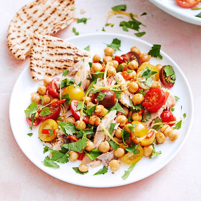 Photo of Mackerel, chermoula and chickpea salad by WW