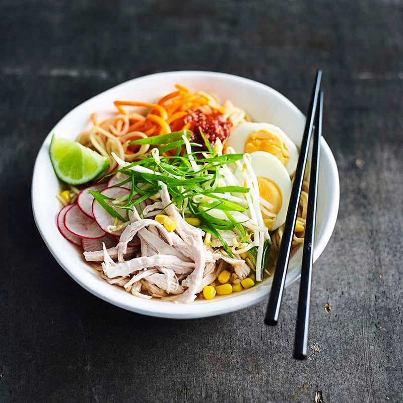 Photo of Chicken and vegetable ramen by WW