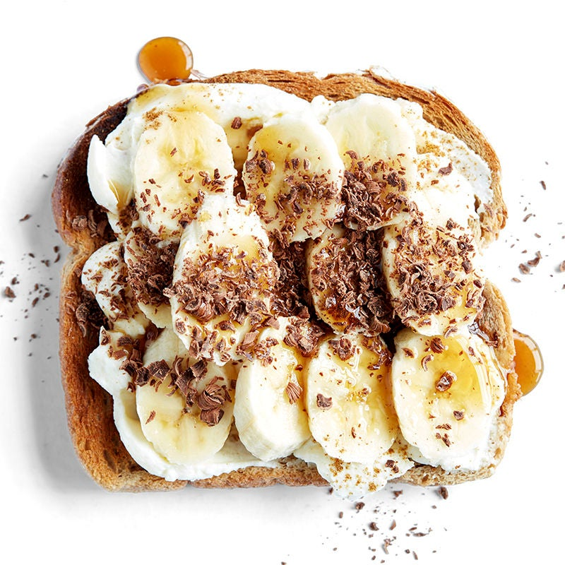 Photo of Banoffee bruschetta toast topper by WW