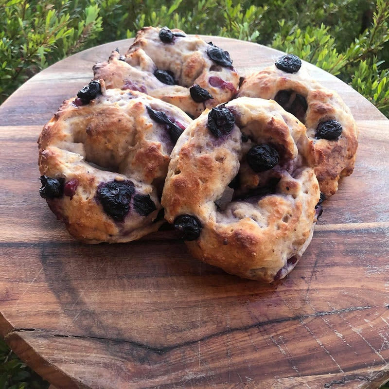 Photo of Sarah's blueberry bagels by WW