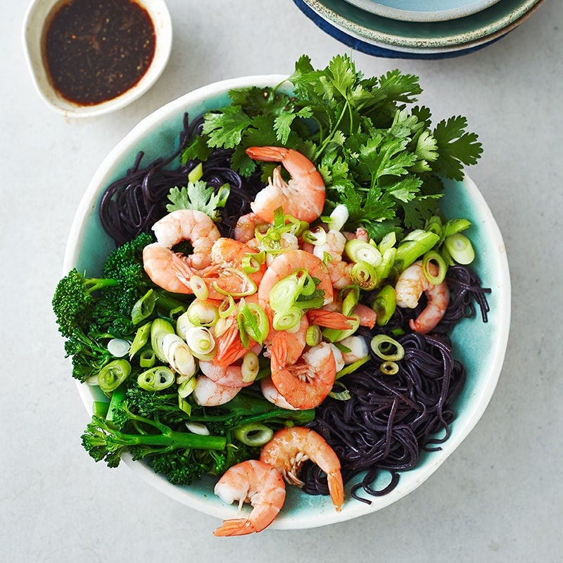 Photo of Prawn, broccolini and rice noodle salad by WW