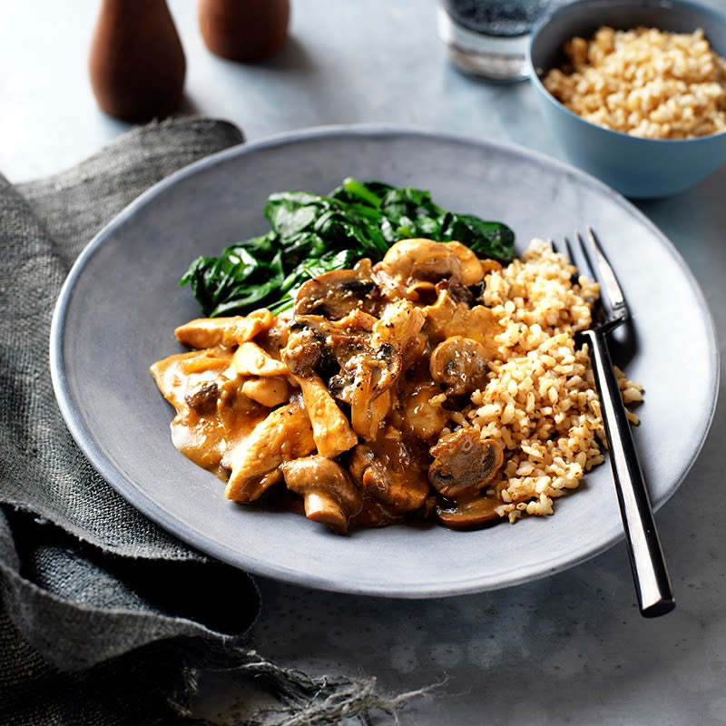 Photo of Chicken and mushroom stroganoff by WW