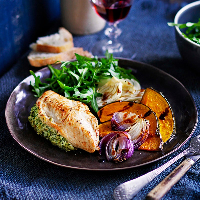 Photo of Ricotta stuffed chicken breast with fennel and pumpkin by WW