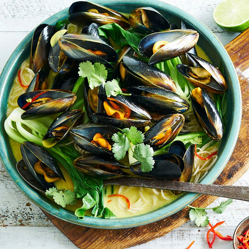Photo of Mussels in coconut and turmeric broth by WW