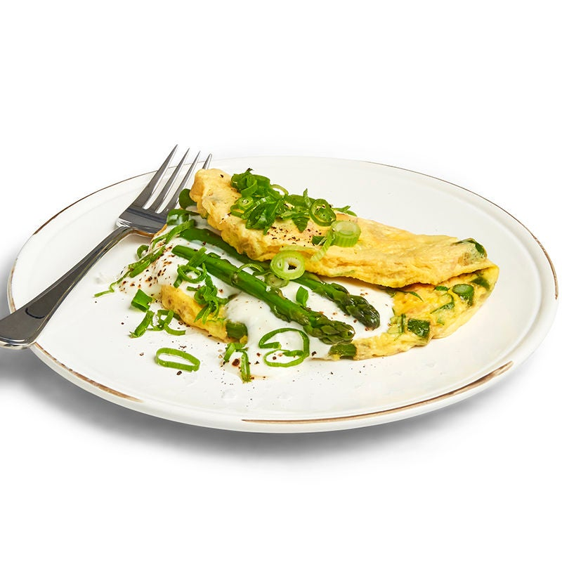 Photo of Salmon and asparagus omelette by WW