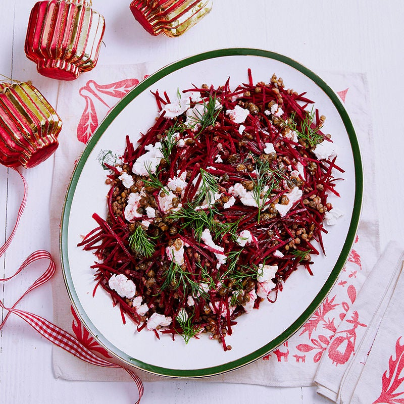Photo of Lentil and beetroot salad by WW