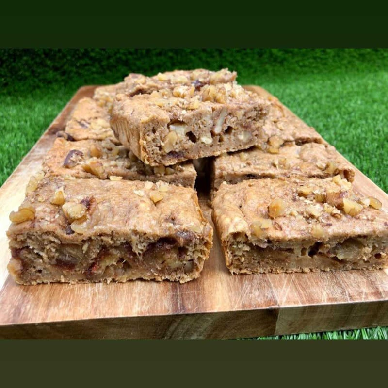 Photo of Anna's pear and walnut slice by WW