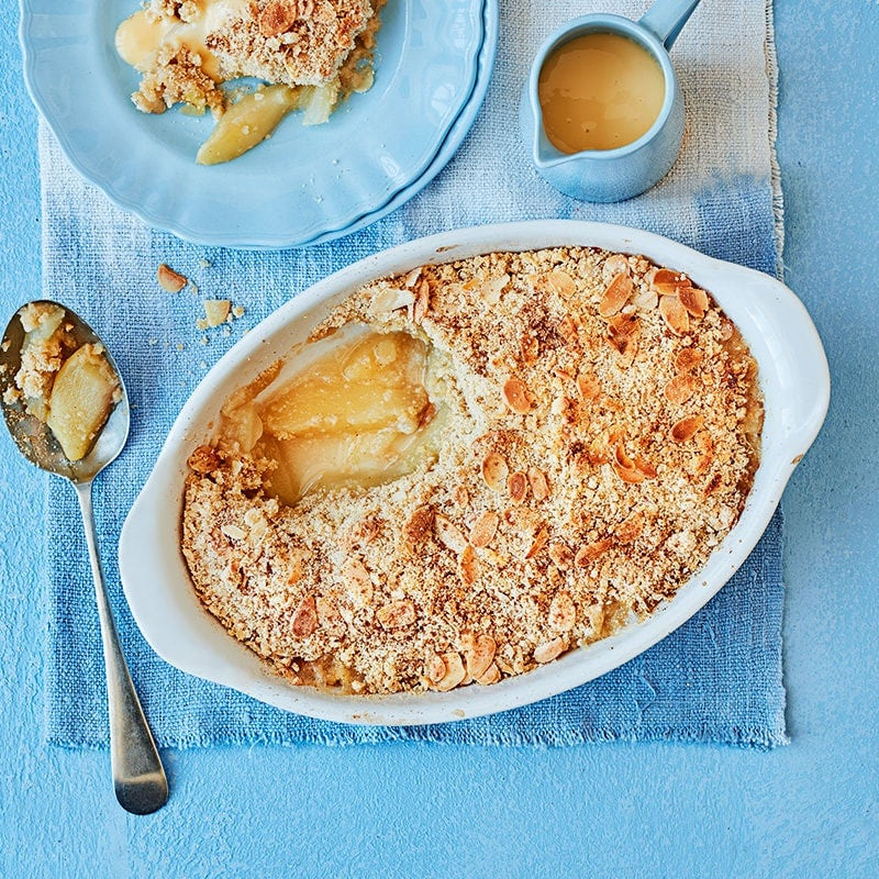 Photo of Pear and almond crumble by WW