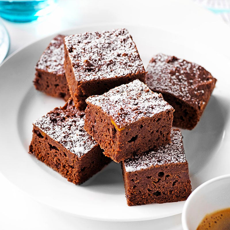 Photo of Chocolate pumpkin brownies by WW