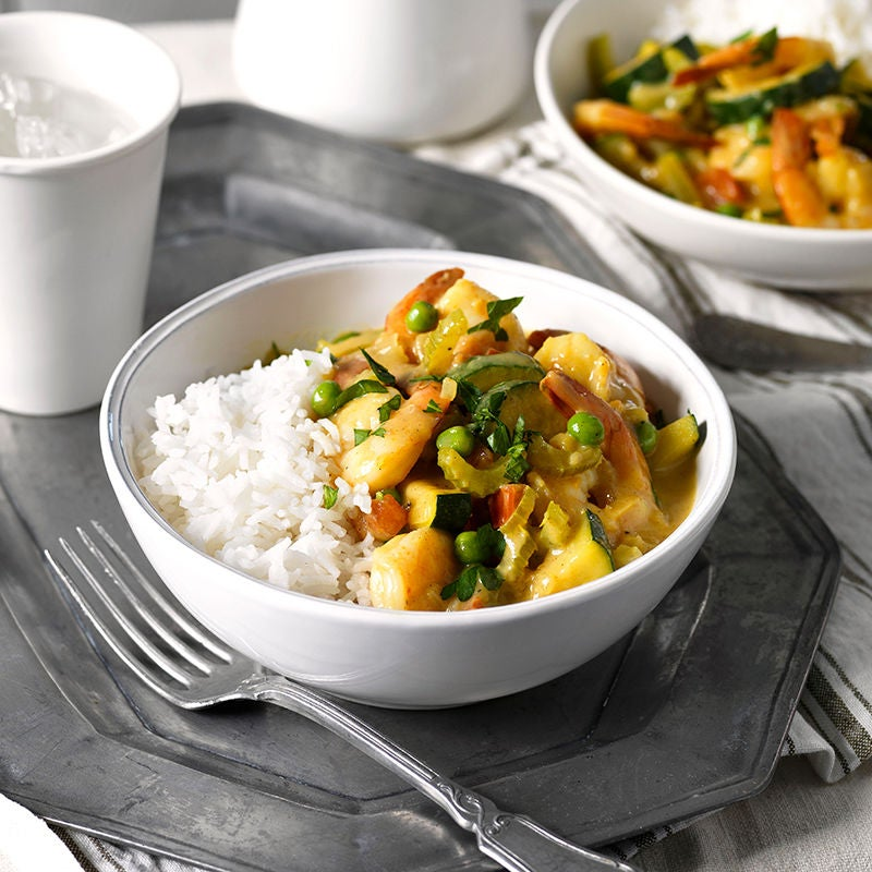 Photo of Curried prawns by WW