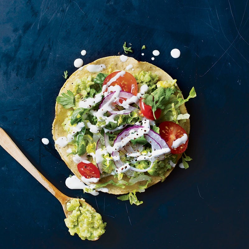 Photo of Edamame tostada by WW